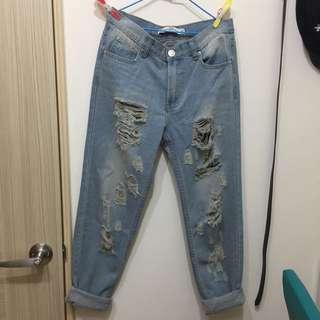 Someone Jeans 刷破牛仔褲