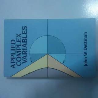 Applied Complex Variables By John W.Dettman