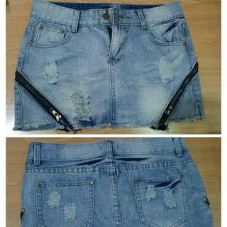 Jeans Skirt Zara