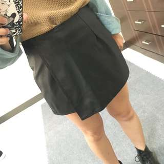 個性皮褲裙
