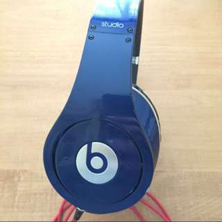 Studio Beats By Dre (Navy Blue)