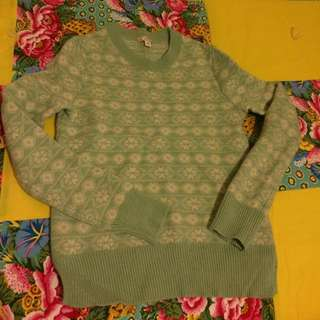 Gap Mint Green Sweater (xs)