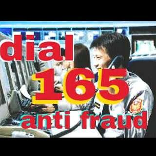 Dial 165 Anti Fraud