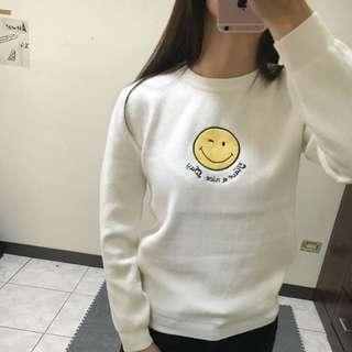 Smile微笑針織柔棉上衣