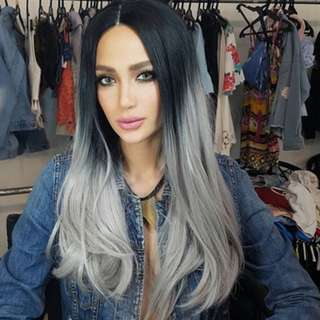 Ombre hair Extensions Like Arci Muñoz