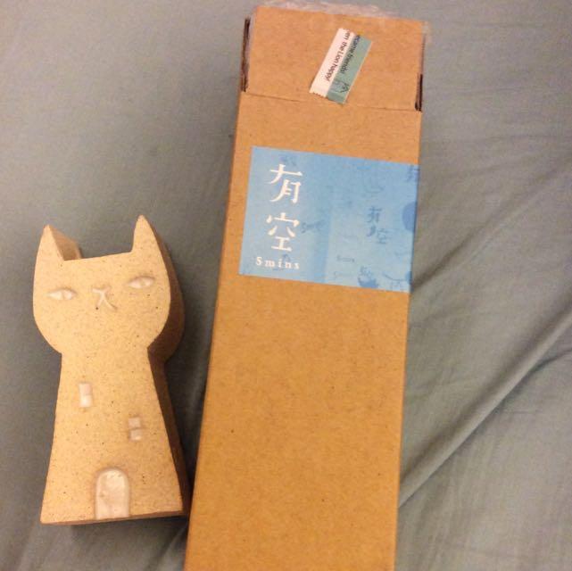 貓咪花瓶 筆筒 裝飾品 藝術品