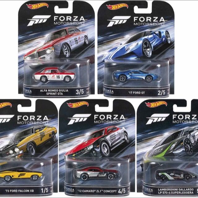 風火輪 Hotwheels 2016 New Froza 限定版整套