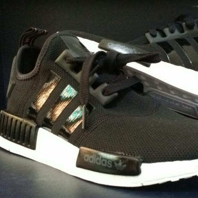 Adidas Nmd R1 Wmns Exclusive Patent Black