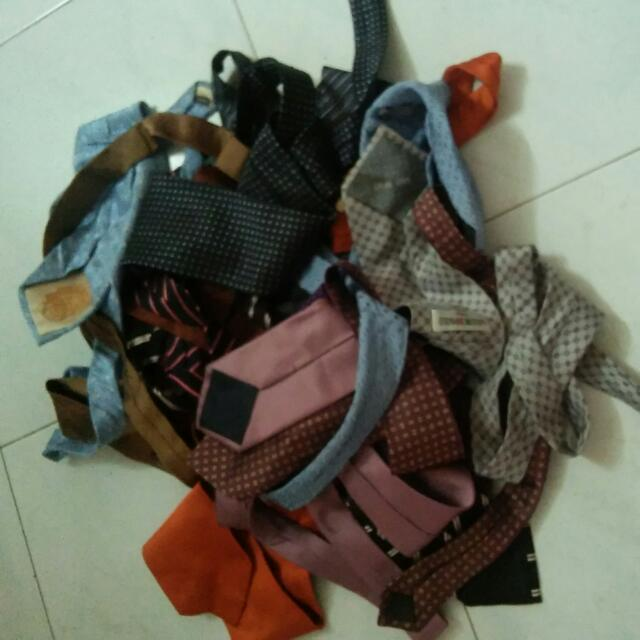 Asst Neckties 3 For 10sgd