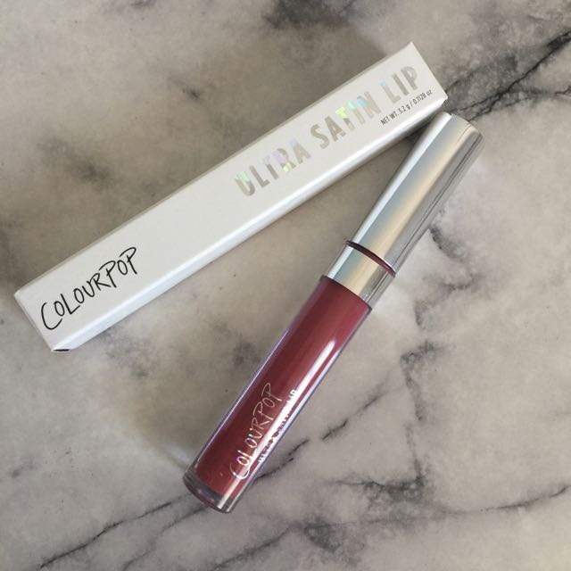 [Authentic] ColourPop Ultra Satin Lip (Baracuda)