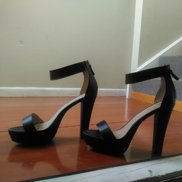 Black Size 10 Verali Heels