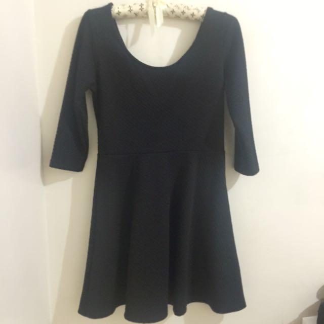 Black Dress Skater