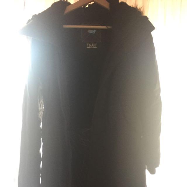 Black XS TNA Winter Jacket