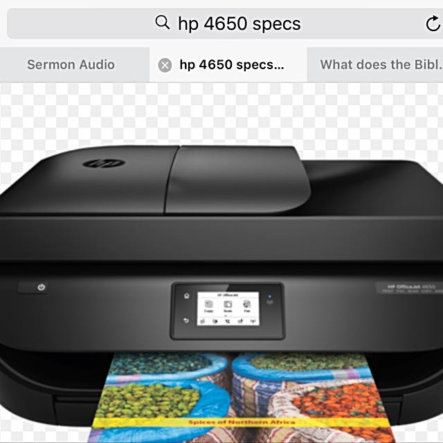BRAND NEW HP Officejet 4650 ALL IN ONE PRINTER, Electronics