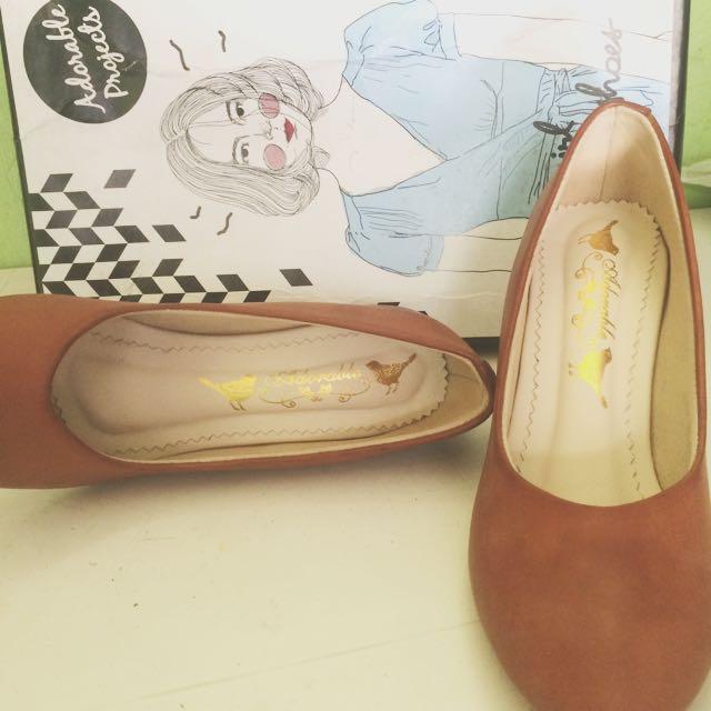 (REPRICE) brown heels