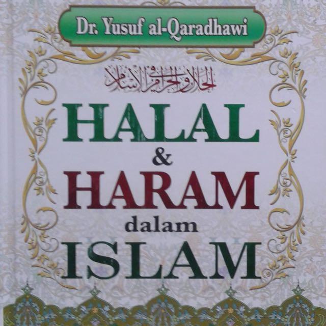 Buku Halal Haram Dalam Islam Books Stationery Books On Carousell