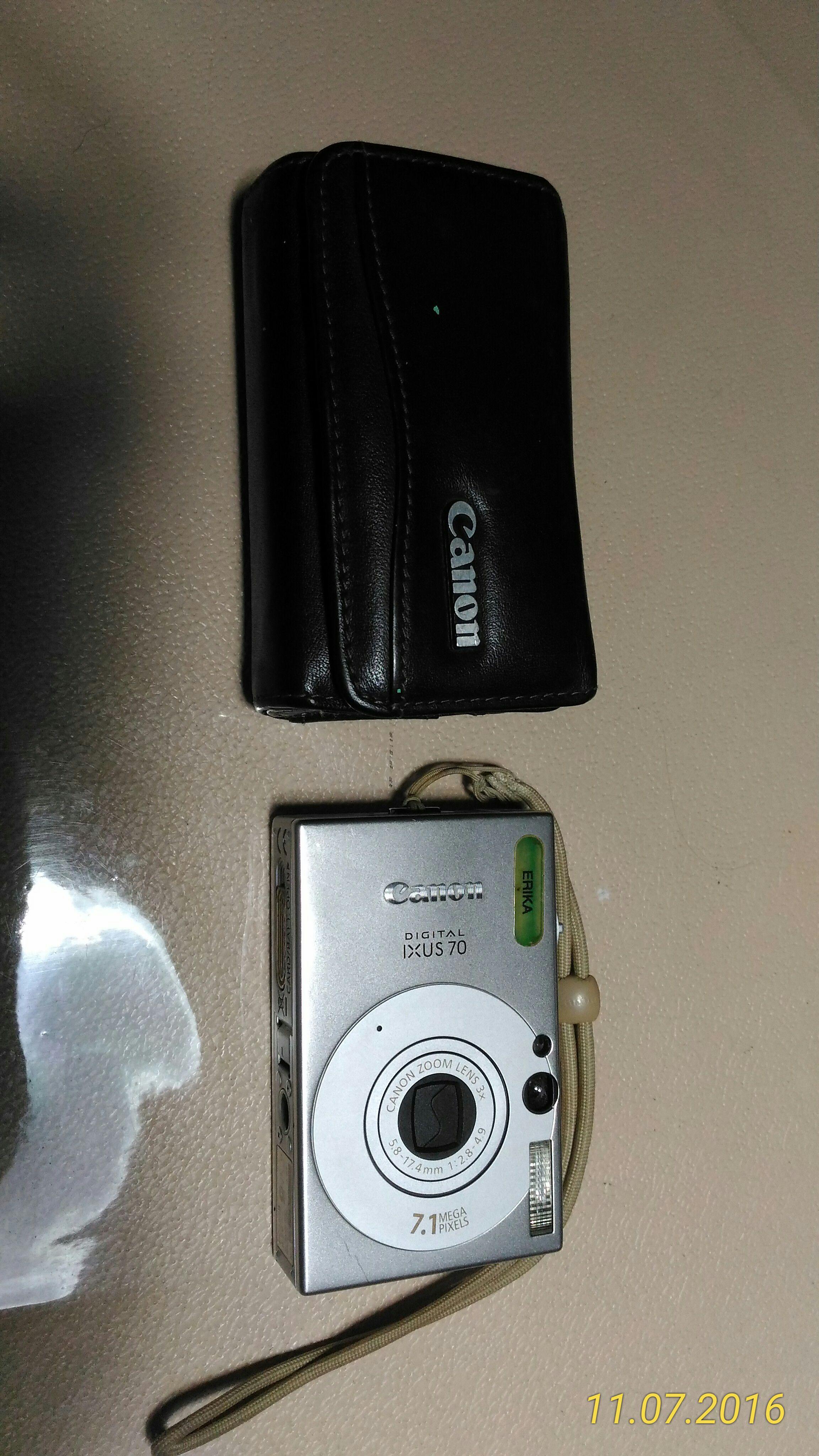 Canon Digital Ixus 170 7.1 Megapixels