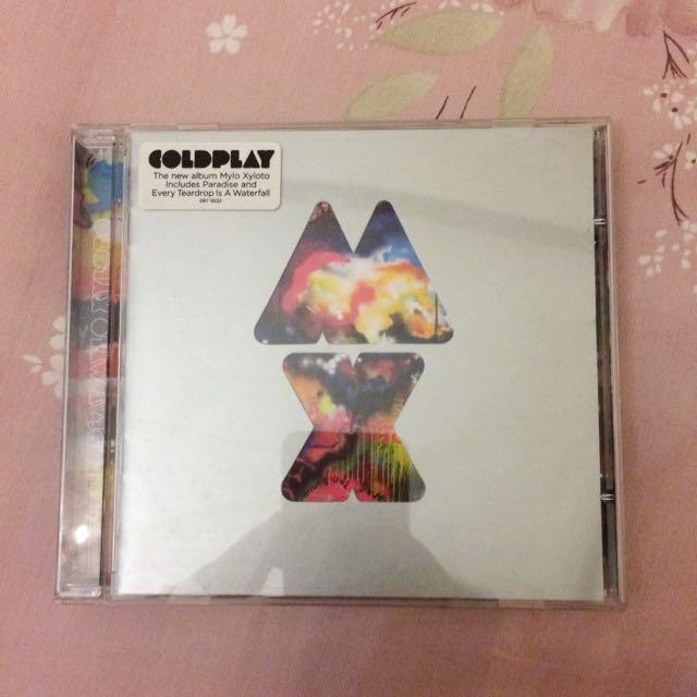 CD COLDPLAY: Mylo Xyloto