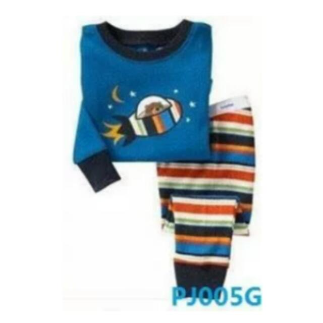 💖💖2T CNY Chinese New Year Birthday Gifts New Cutie Pyjamas Sweet Kids  children top shirts long pants home outdoor boy girl ef55c41f1