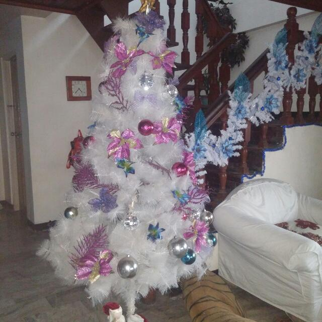 Christmas Tree With Decors