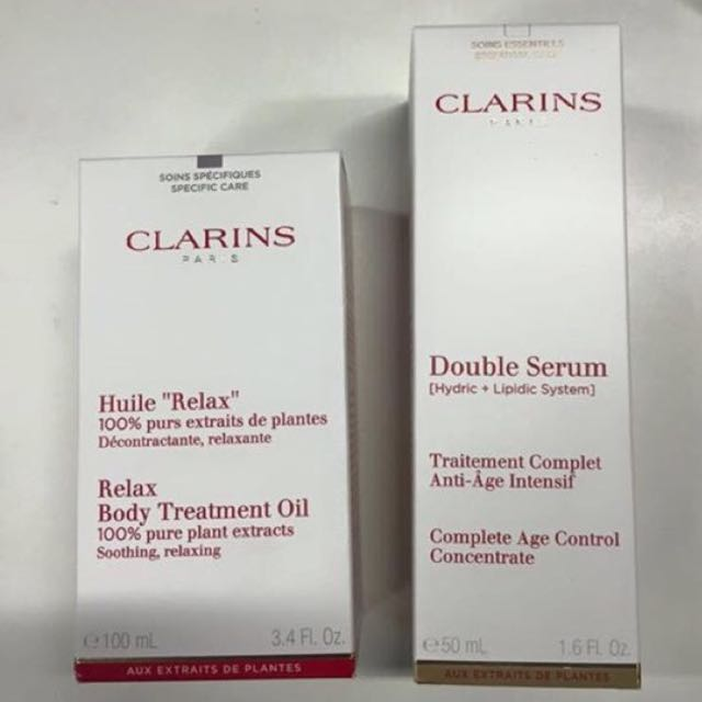 Clarins Products - New