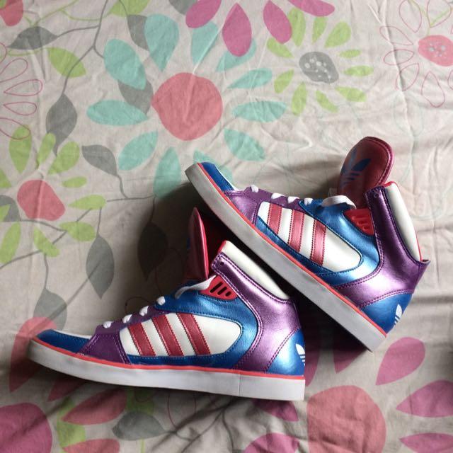 Colourful Adidas Hightops