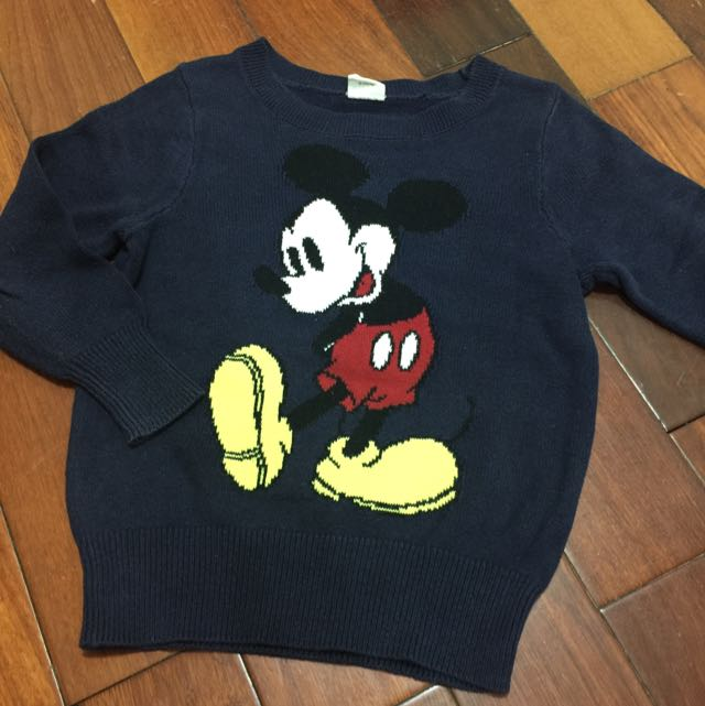 Disney米奇長針織毛衣