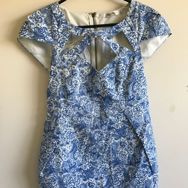 Dress With Cutouts