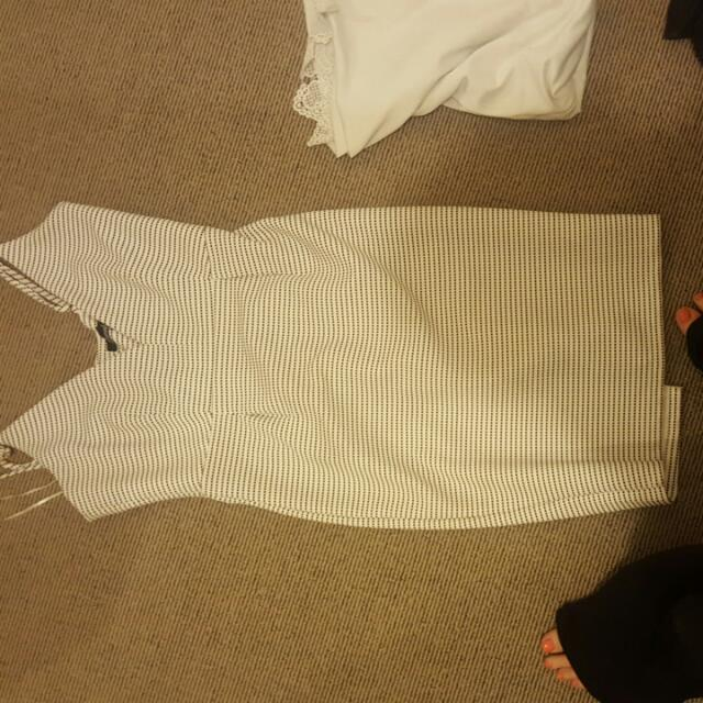Ehite Dress Size 12