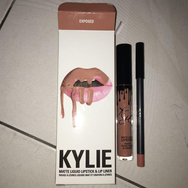 Exposed Kylie Lip Kit