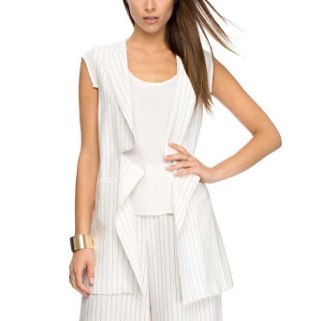 Finders Keepers Pin Striped Vest