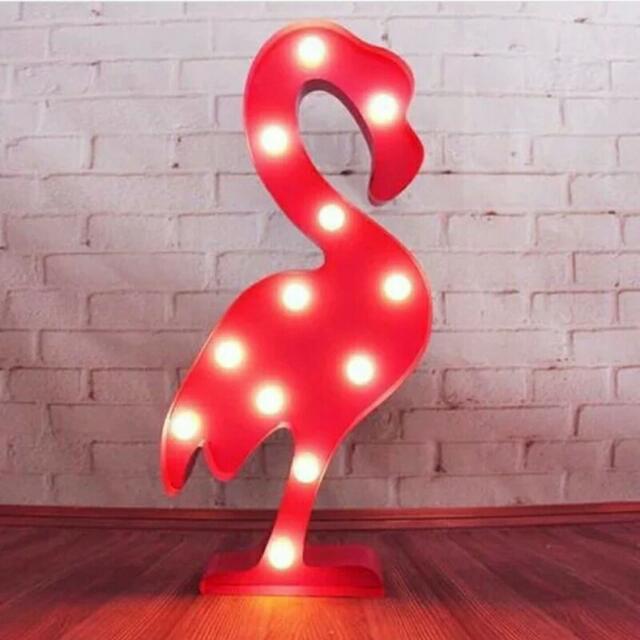 On Promo ! Flamingo LED Lamp