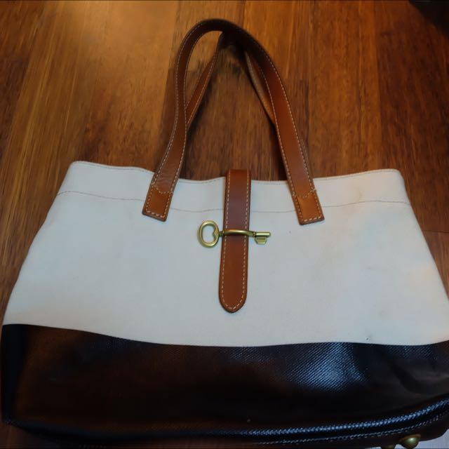 FOSSIL TWO TONE BAG