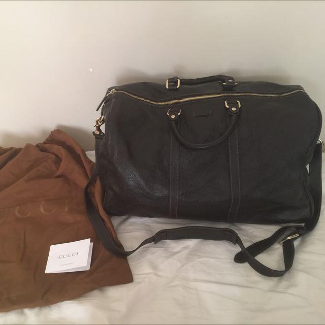 Gucci Duffle / Travel Bag