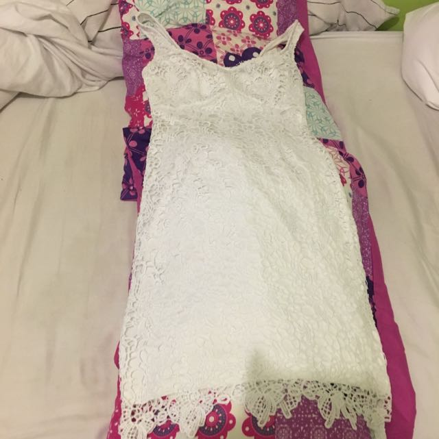 GUESS White Lace