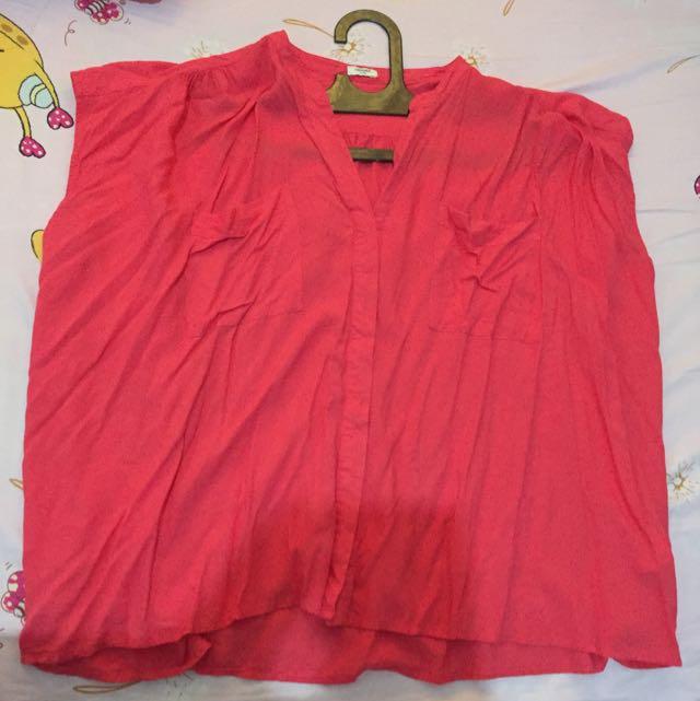 hammer blouse pink