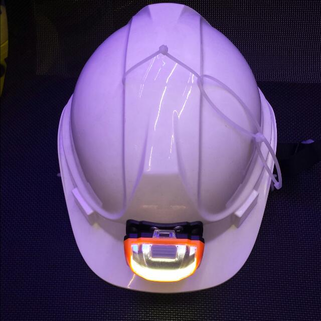 Hard Hat With Lights
