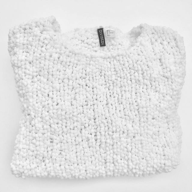 H&M Divided Chunky Knit Jumper