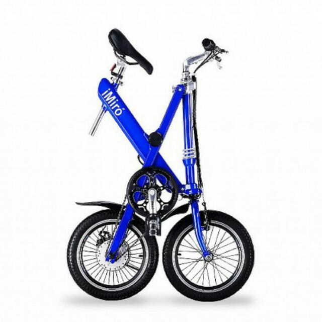 (待付款)IMIRO EB 16 電動輔助折疊自行車