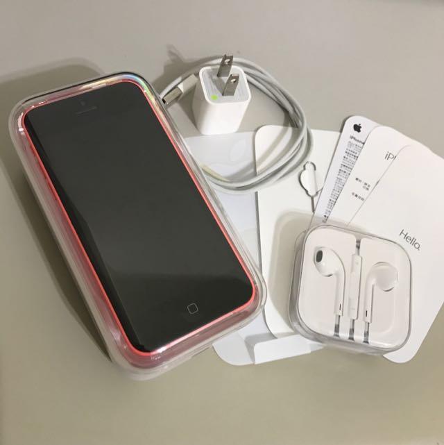 iPhone 5c 16G 粉紅