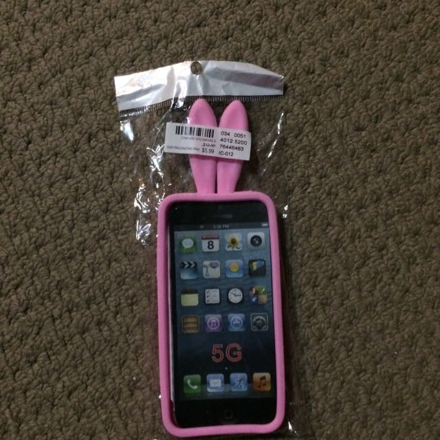 iPhone 5S Bunny Case