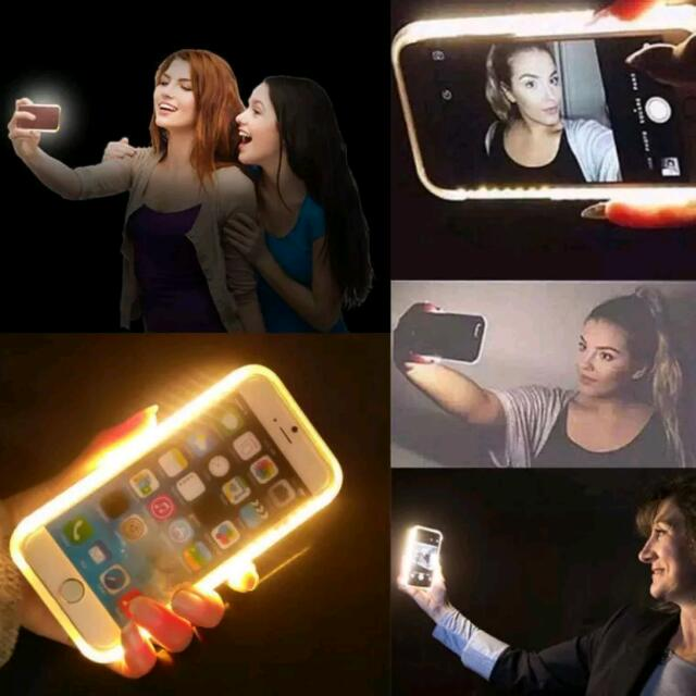 LED Selfie iPhone 5-7+ Casing