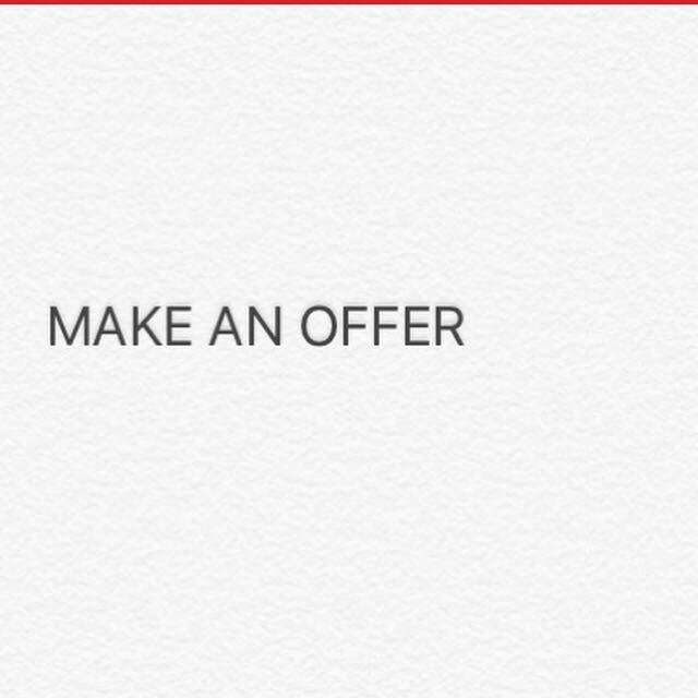 MAKE AN OFFER ON ANYTHING