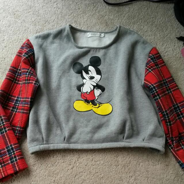 Mickey Mouse Crop Jumper