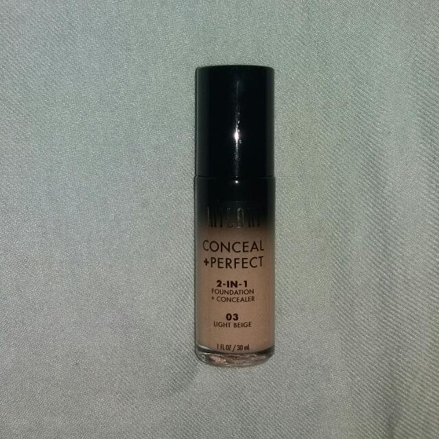 Milani Conceal + Perfect 3 In 1 Foundation