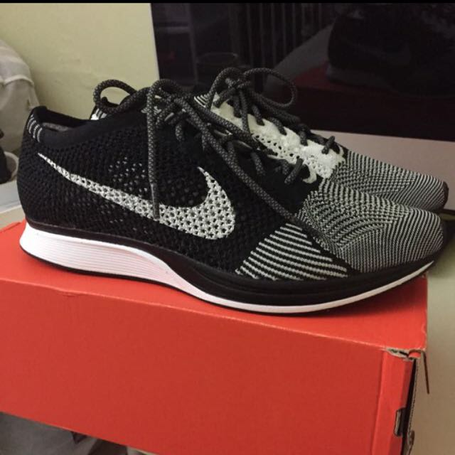 Nike Flyknit Racer Orca - volt removal