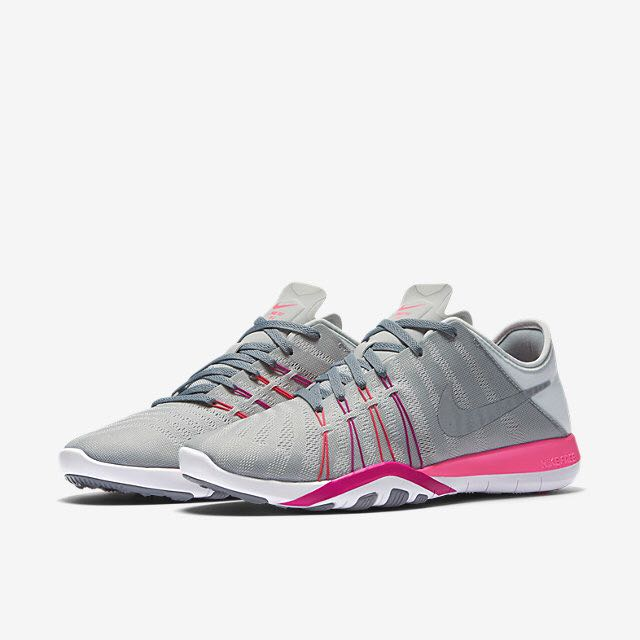 a0e19854fe693 Nike Free TR 6 (Women) - Pure Platinum Pink Blast Fire Pink Stealth ...