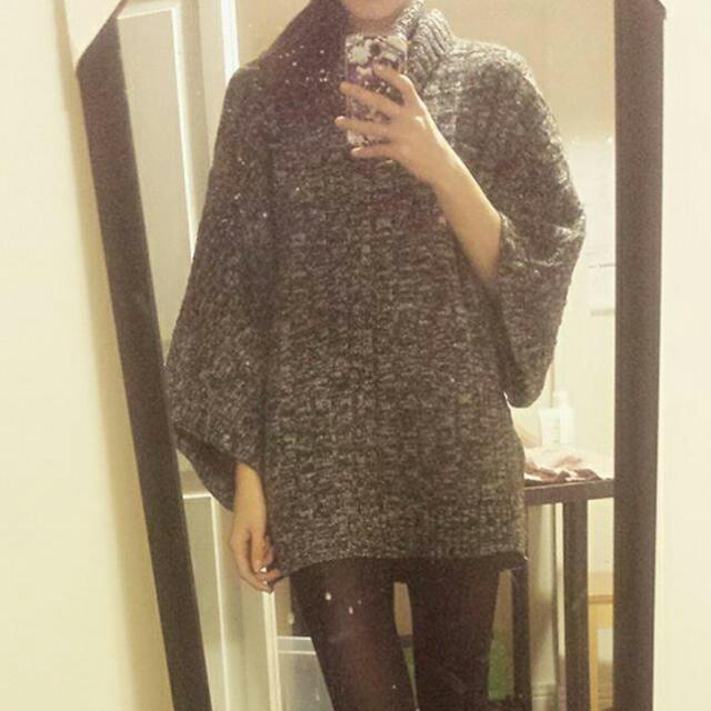 One Size Poncho Sweater