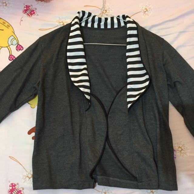 outer / cardigan abu zebra