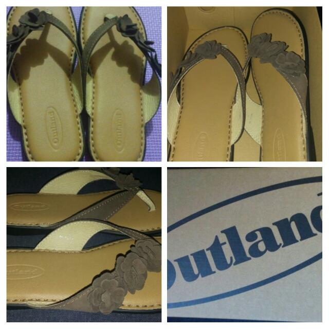 Outland Sandals (Authentic; Leather; New)